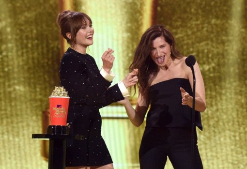 «ВандаВижн» триумфовал наMTV Movie & TVAwards 2021. Сериал получил 4 награды