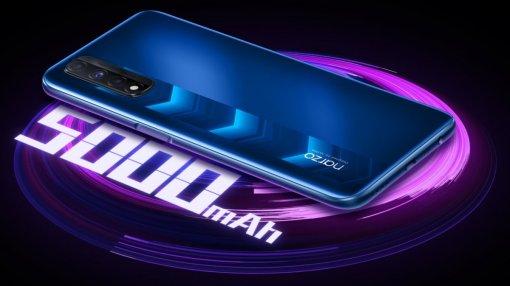 Realme представила бюджетный игровой смартфон Narzo30