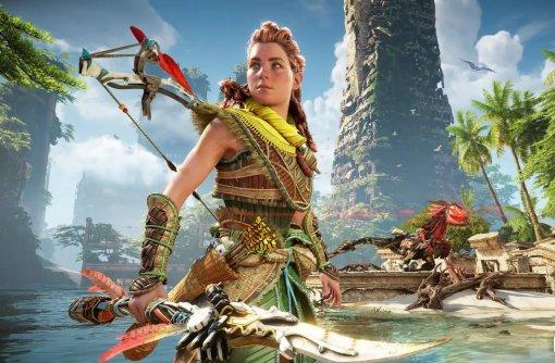 Sony показала 14 минут геймплея Horizon Forbidden West иновые скриншоты