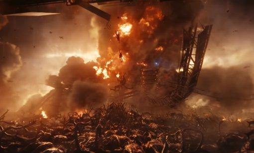 Крис Пратт ичеловечество сражаются спришельцами втрейлере «Войны будущего»
