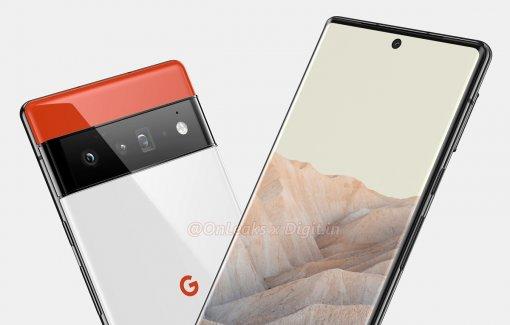 Опубликованы качественные рендеры Google Pixel 6 Pro