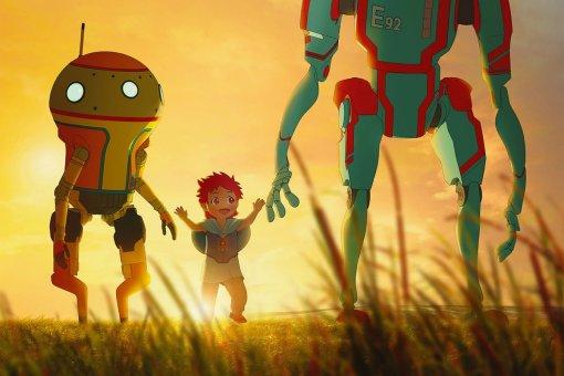Netflix выпустил трейлер мультсериала «Эдем» о будущем с роботами, но без людей