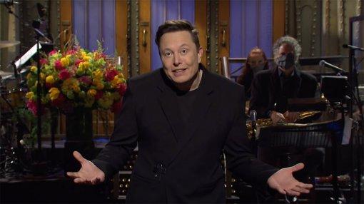 Илон Маск признался в синдроме Аспергера и пошутил про Dogecoin в Saturday Night Live