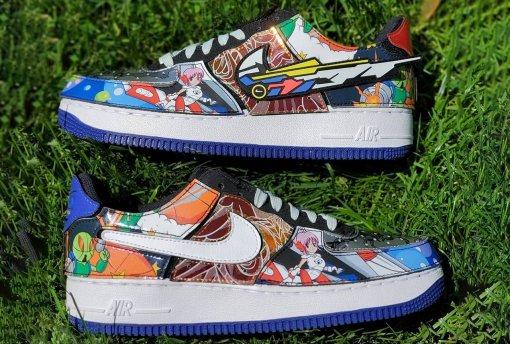 Nike выпустит кроссовки-конструктор для фанатов аниме
