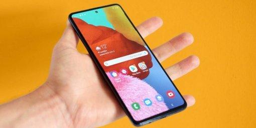 Samsung представила смартфон Galaxy F52 5G сэкраном 120 Гц