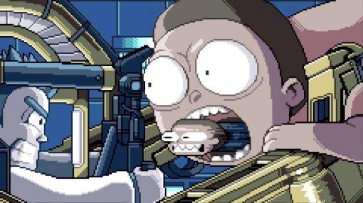 Рик и Морти отправляются в мир видеоигр в новой короткометражке