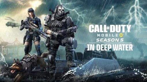 Авторы Call of Duty Mobile представили пятый сезон и раскрыли дату релиза