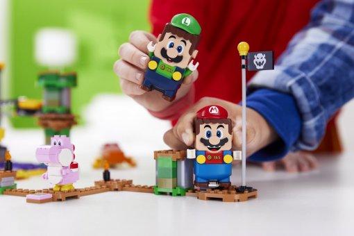 LEGO представила возможности для кооперативной игры наборов с Марио и Луиджи