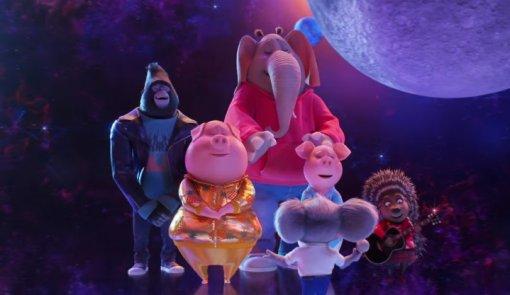 Появился первый трейлер мультфильма «Зверопой 2» про поющих животных