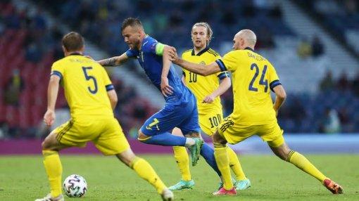Плей-офф на Евро—2020: Украина побеждает Швецию в экстратайме и выходит в четвертьфинал