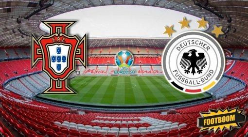 В Мюнхене начался матч между Португалией и Германией