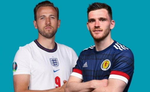 Матч дня наЕвро-2020: Англия иШотландия сыграли вничью