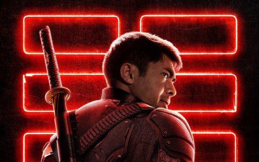 Вышел новый постер фильма «G.I. Joe: Бросок кобры. Снейк Айз» сгероем вшлеме