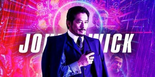 Хироюки Санада из«Мортал Комбат» сыграет в«Джоне Уике 4» сКиану Ривзом
