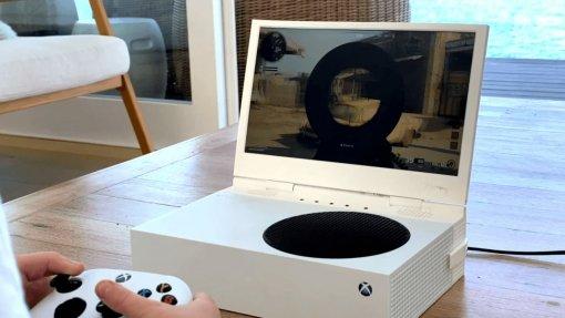 Американский стартап представил портативный дисплей для Xbox Series S