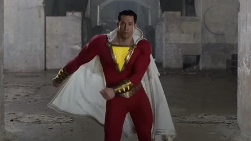 Появились фото нового костюма Шазама сосъёмок продолжения фильма DC