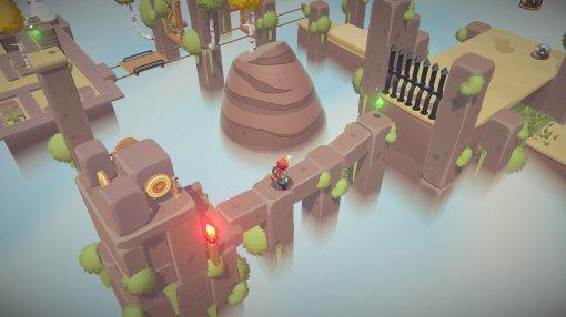 Милая головоломка-платформер The Lightbringer получила новый трейлер