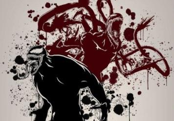 «Дабудет Карнаж»: авторы «Венома 2» показали лучшие фан-постеры сдвумя симбиотами