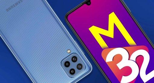 Samsung представила Galaxy M32— доступный смартфон сбольшим аккумулятором