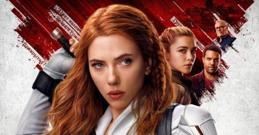Появился новый постер «Чёрной вдовы» отMarvel сглавными героями фильма