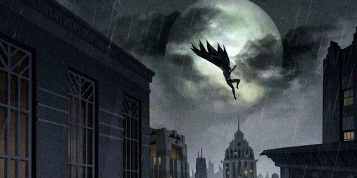Готэм инуар: появились новые кадры мультфильма «Бэтмен: Долгий Хэллоуин» отDC