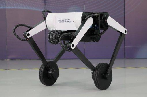 Robotics X Lab представила двухколёсного робота Олли, который умеет делать сальто
