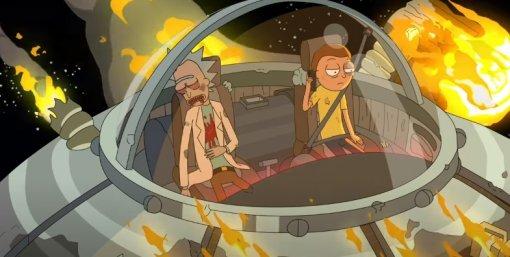 Всети вышло начало 1 серии 5 сезона «Рика иМорти»— показали заклятого врага Рика