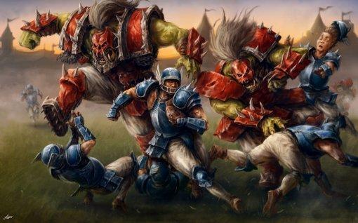 Жестокий спорт: 10 крутых фан-артов по игре Blood Bowl