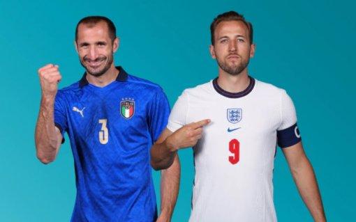 Начался финал Евро—2020: вЛондоне играют сборные Англии иИталии
