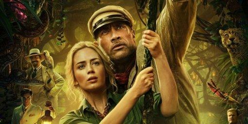 Disney выпустил новые трейлеры «Круиза поджунглям» сДуэйном Джонсоном иЭмили Блант