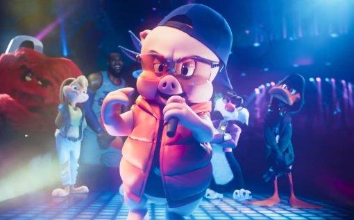 Вновом ролике «Космического джема 2» Порки Пиг зачитал рэп