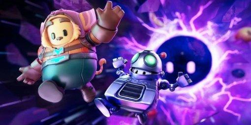 Уигры Ratchet & Clank будет кроссовер сFall Guys