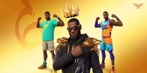 «Король прибыл»: баскетболист Леброн Джеймс появится вигре Fortnite