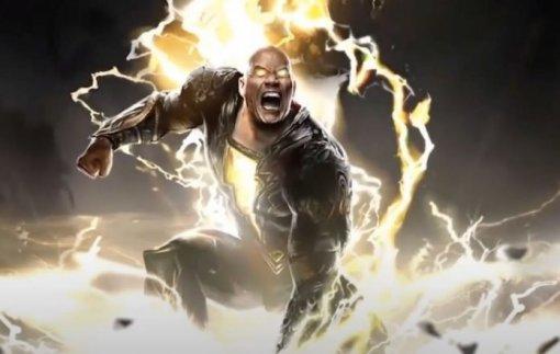 «Чёрный Адам»: Дуэйн Джонсон показал костюм своего антигероя изфильма DC