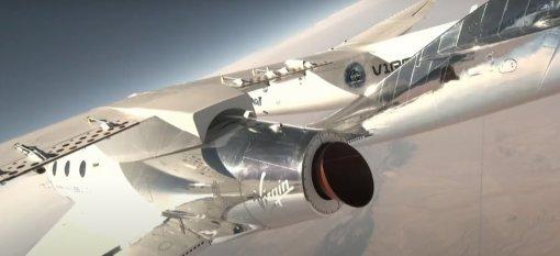 Ракетоплан VSS Unity Ричарда Брэнсона совершил успешную посадку после полёта вкосмос
