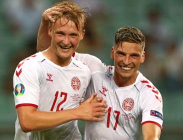 Четвертьфиналы Евро—2020: Дания обыграла Чехию ивышла вполуфинал