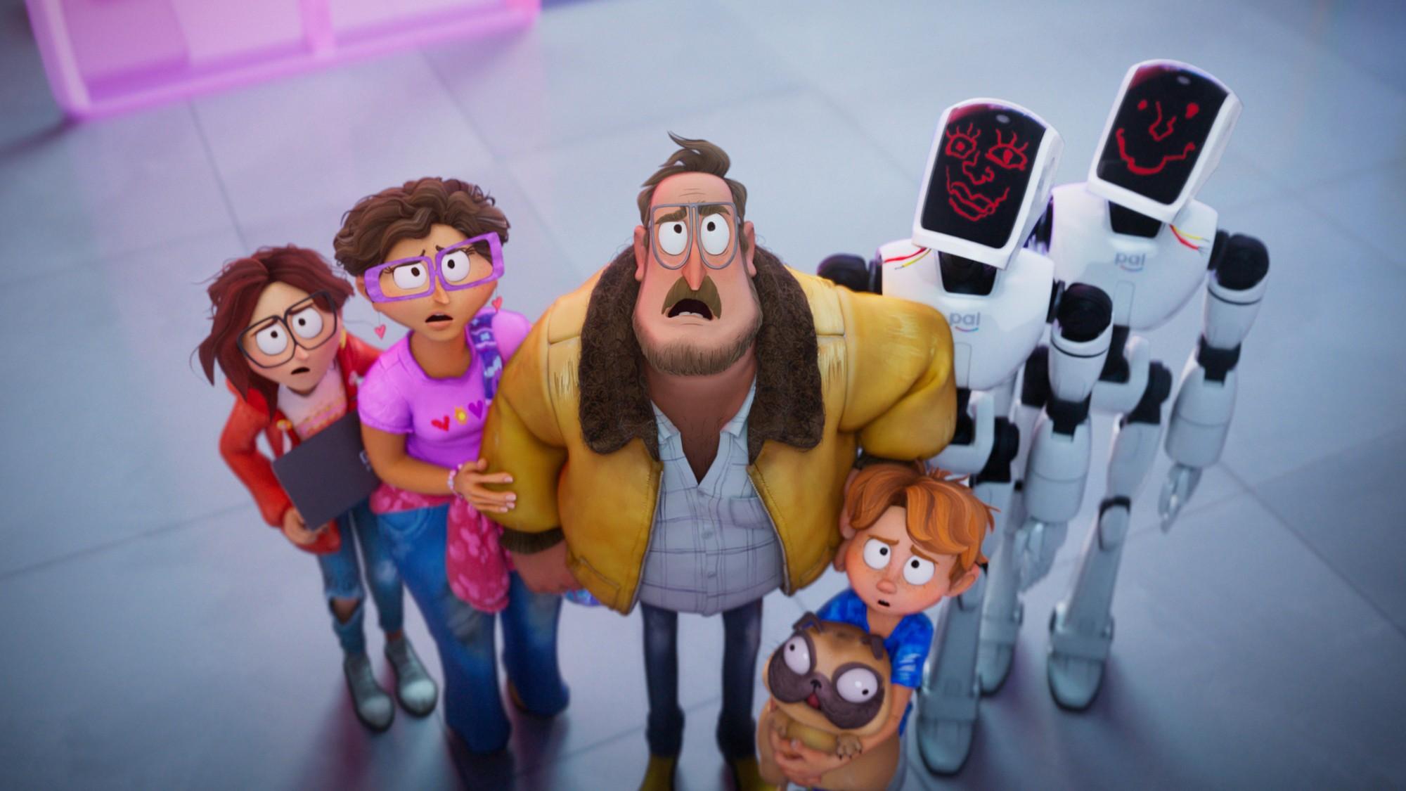 «Митчеллы против машин» стал самым популярным мультфильмом наNetflix вистории