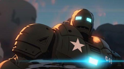 Стив Роджерс вжелезной броне иКапитан Картер: вышел отрывок сериала «Что, если?»