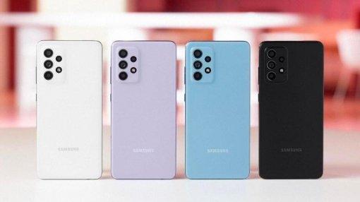 Опубликованы детальные рендеры Samsung Galaxy A52s: много камер ирасцветок