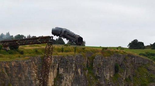 «Миссия: невыполнима 7»: появилось видео сосъёмок сцены крушения поезда