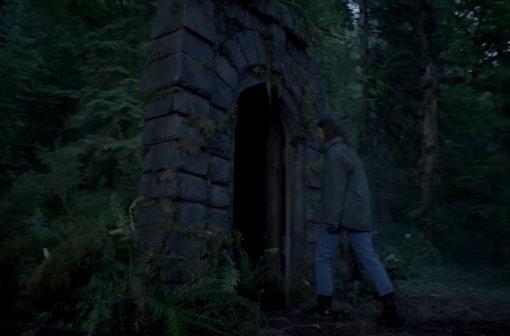 Peacock поделился первым трейлером хоррор-сериала «Девушка влесу»