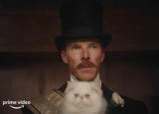 Появился трейлер фильма «Кошачьи миры Луиса Уэйна» сКамбербэтчем