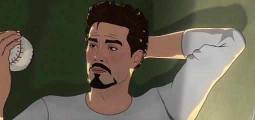 Marvel поделился отрывком измультсериала «Что, если?...» сТони Старком иКиллмонгерой